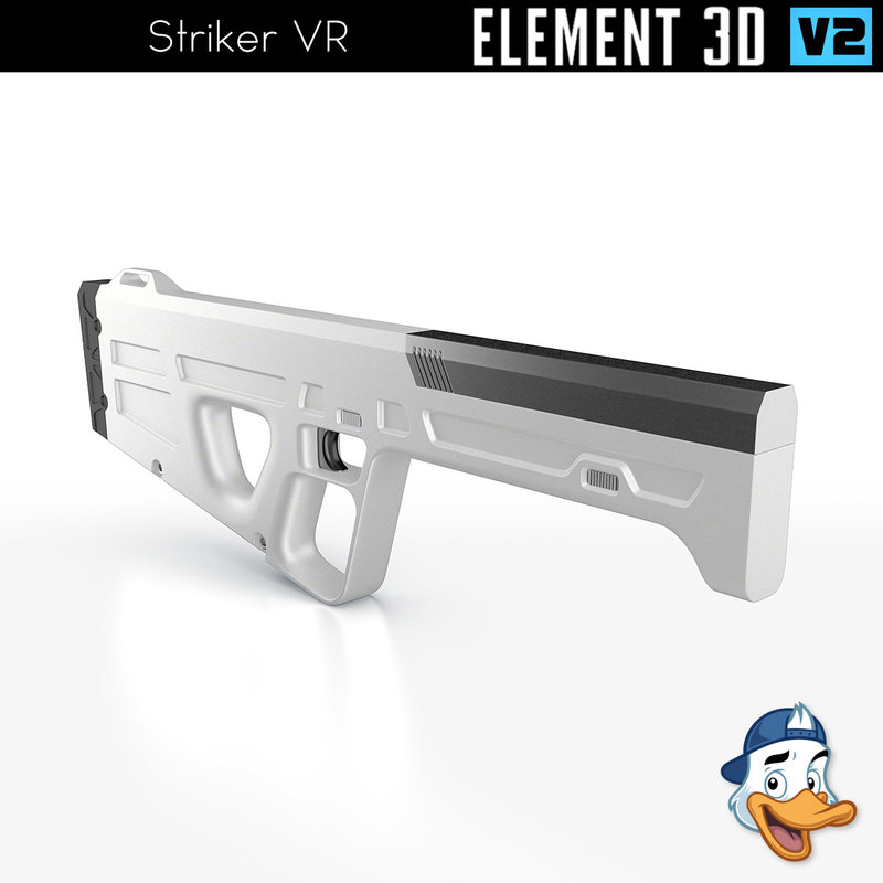 striker vr element 3D model