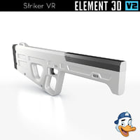 striker vr element 3D model