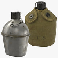 3D war ii canteen model