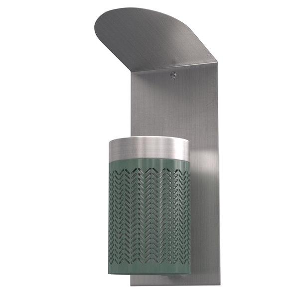 3D zigzag ashtray