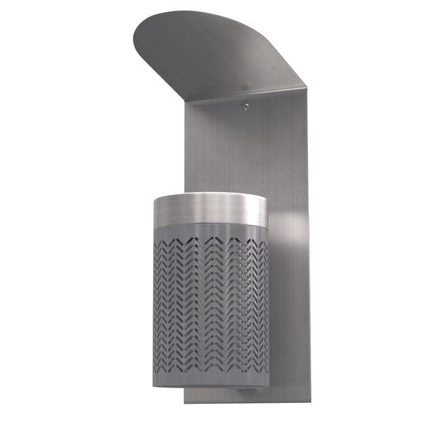 zigzag ashtray 3D model