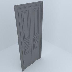 building architecture door 3D