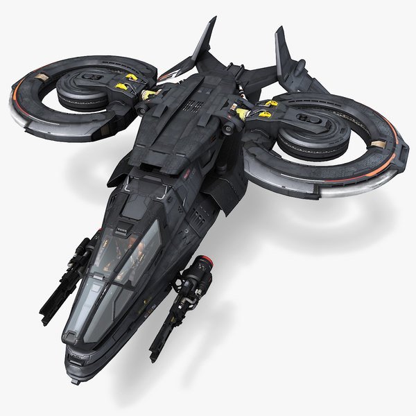 3D sf stealth fighter