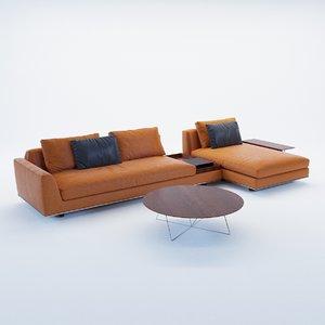 3D model sofa tama living