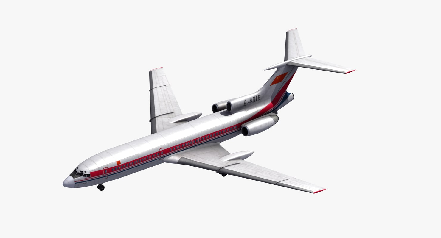 tu-154 careless jet 3D
