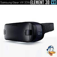 3D samsung gear vr 2016