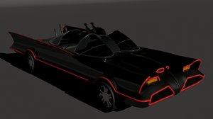 bat-mobil 1966 3D model