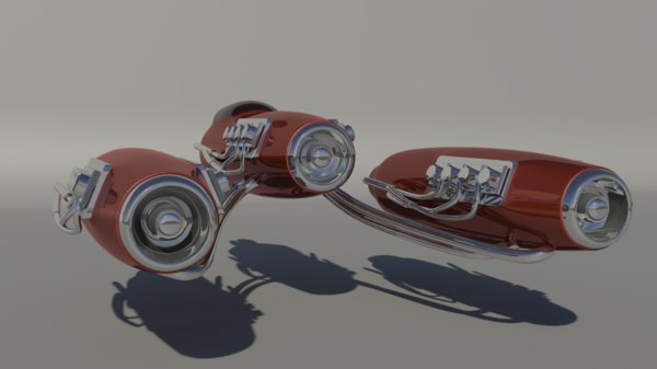 3D pod cars