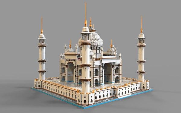 3D lego model