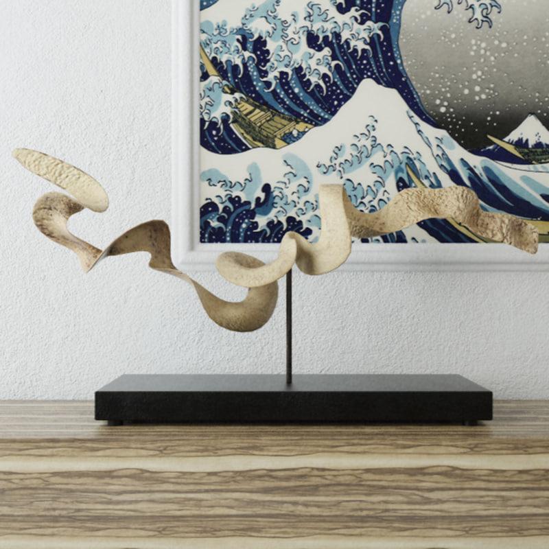 decoration stand 3D model