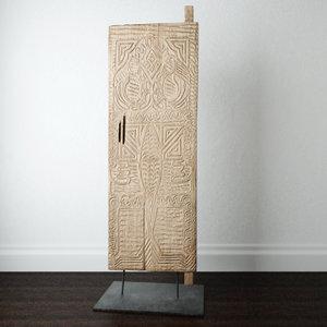 asmat door decoration 3D model
