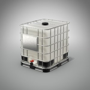 water storage tank 3D