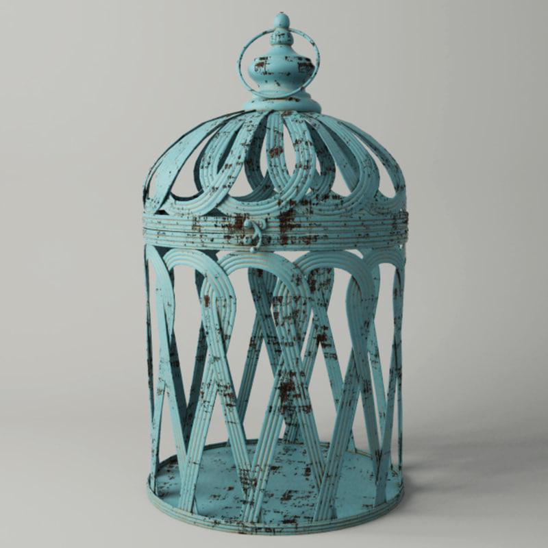 jennifer bird cage decor model