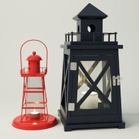 lighthouse lanterns 3D