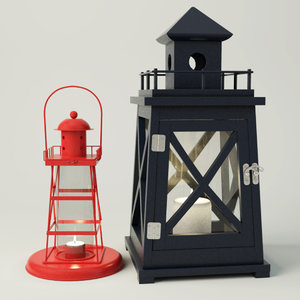 lighthouse lanterns 3D