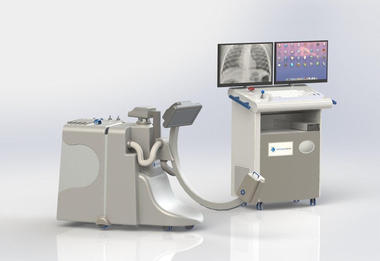 apparatus roentgen x-ray 3D model