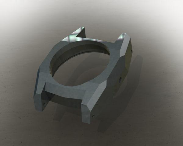 case 3D model