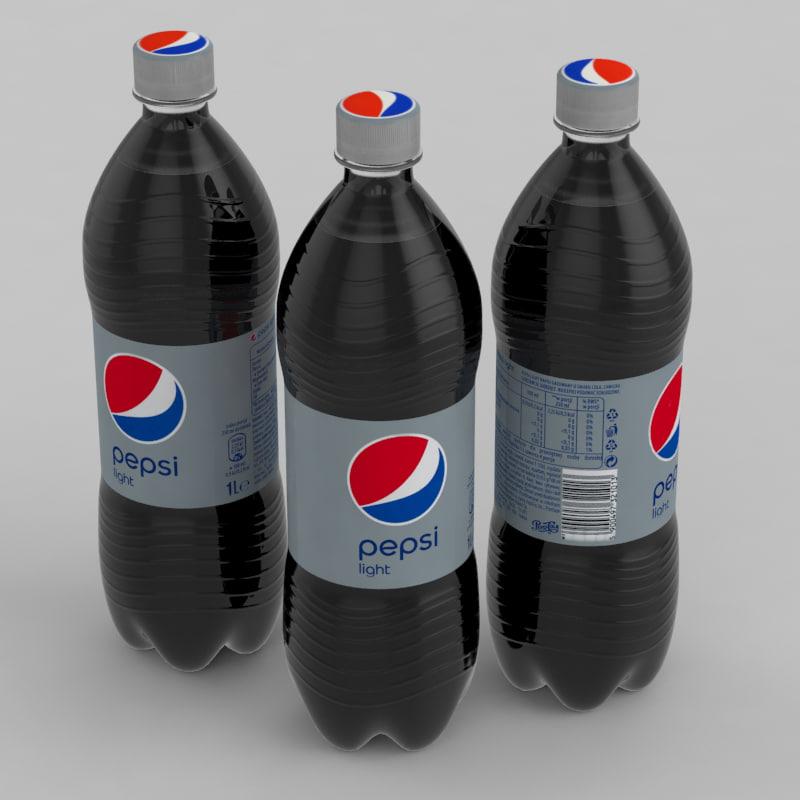3D pepsi beverage light