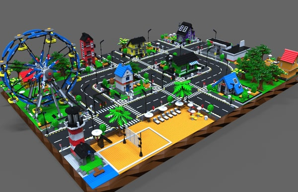 lego city model