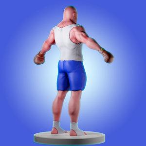 3D characters games model