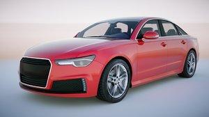 3D generic sedan v1