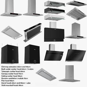chimney extractors 3D