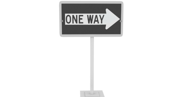 3D road signal way