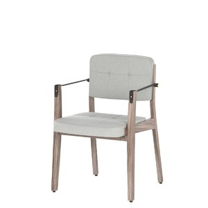 neri hu capo lounge chair 3D model