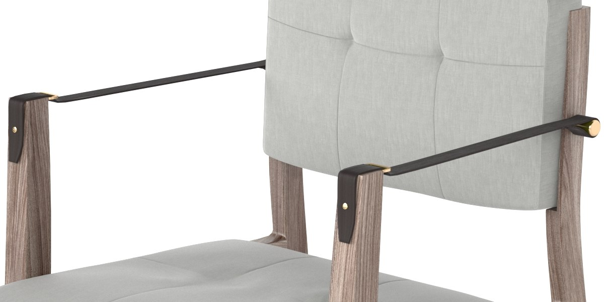 ... Neri Hu Capo Lounge Chair 3D Model ...
