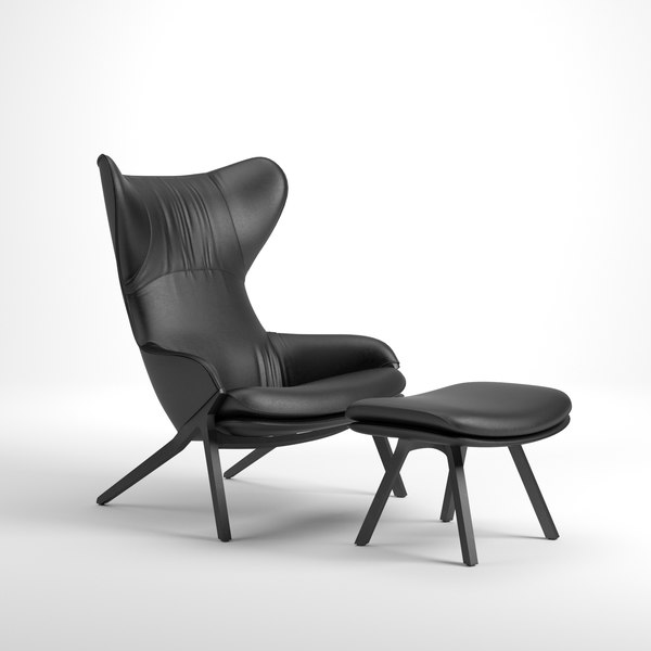 cassina chair 3D