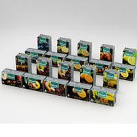 3D dilmah fun tea boxes