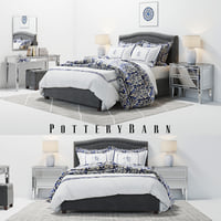 3D pottery barn tamsen bed