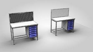workbench 3D model