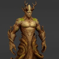 tree demon 3D model