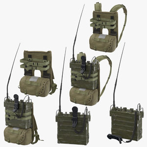 war ii portable transceiver model