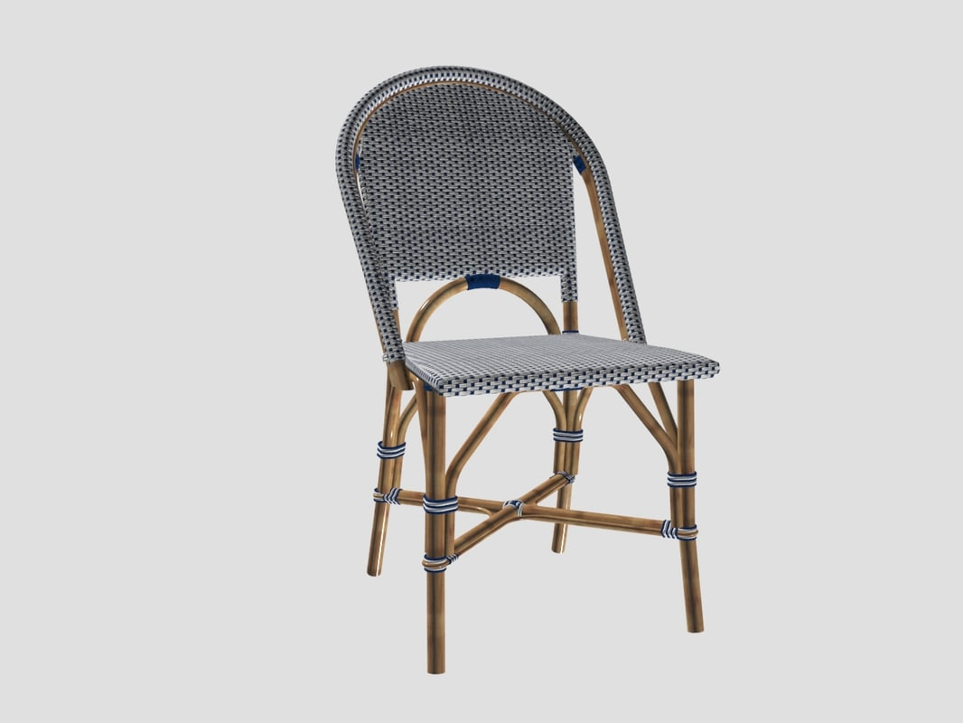 3D Riviera Chair Serena Lily Model