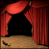 theater stage 3D
