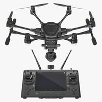 Yuneec Typhoon H Videography Hexacopter Set Rigged