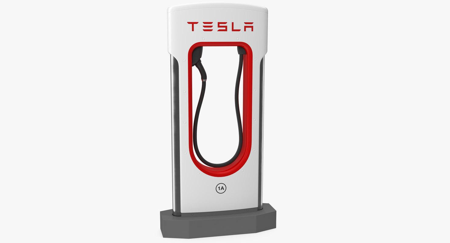 tesla supercharger model
