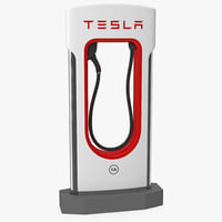 tesla supercharger model