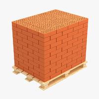 pallet bricks 3D
