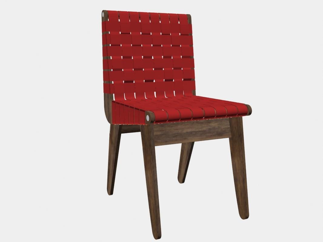 3D plywood chair klaus grabe model