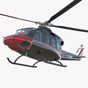 offshore helicopter bell 412ep model