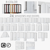 windows and doors fiberglass
