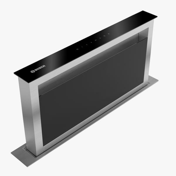 3D model bosch domino ventilation
