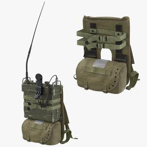 prc portable transceiver pack model