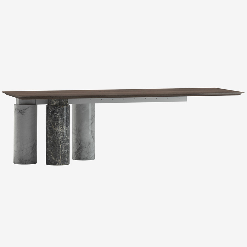 kreoo arcaico dining table 3D