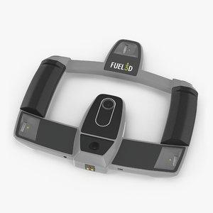 handheld scanner fuel3d 3D model