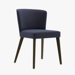 seven sedie eva 3D model