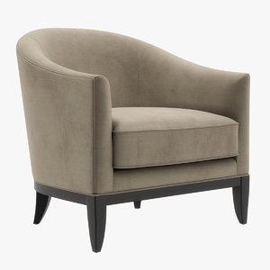 seven sedie chair 3D model